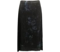 tie-dye print skirt