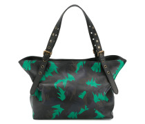 camo palm small besace