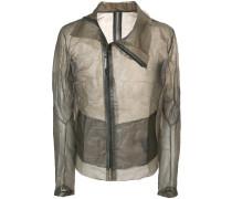 sheer biker jacket