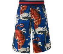 Bengal print swim shorts
