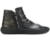 zip-up sneakers