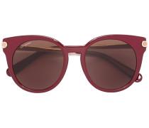 Runde Sonnenbrille - women - Acetat/metal