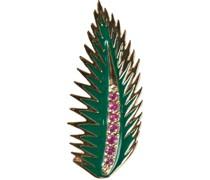 Palmenblatt-Ohrring aus 14kt Gold