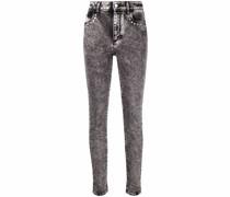 Verzierte Skinny-Jeans