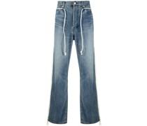 Jeans mit Besatzstreifen
