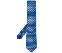 Krawatte mit Elefanten-Print