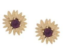 18kt 'Bouquet' Gelbgoldohrringe