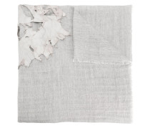 distressed layer detail large scarf
