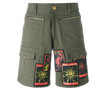 Cargo-Shorts mit Sonnen-Patches - men