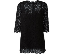 floral lace mini dress