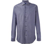 houndstooth pattern shirt