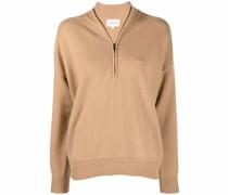 half-zip cashmere jumper