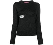 Bestickter 'Flirting' Pullover