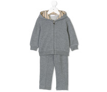 tracksuit with striped detail
