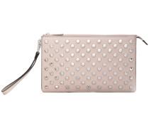 'Daniel' clutch bag - women - Leder/metal