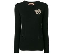 Verzierter Pullover