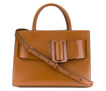 Handtasche mit großer Schnalle