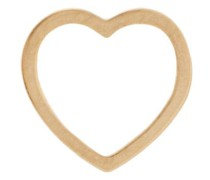 18kt gold Heart Charm necklace