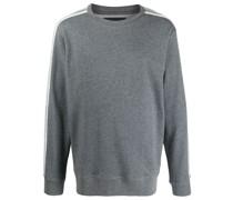 Pullover mit Logo-Streifen
