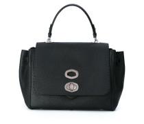 - Mittelgroße Handtasche mit Klappdeckel - women