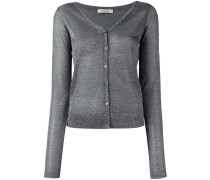 Cardigan mit Hochglanz-Finish - women