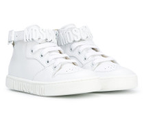 High-Top-Sneakers mit Logo-Schild - kids