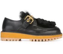 Loafer mit Schnallenriemen
