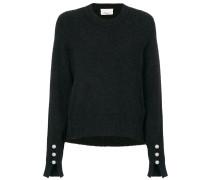 Pullover mit Kunstperlenverzierung