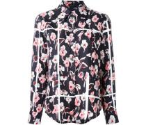 - Seidenhemd mit Blumen-Print - women - Seide - 8
