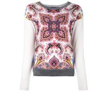 Sweatshirt mit Paisley-Print