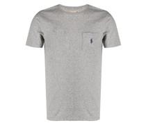 T-Shirt mit aufgesetzter Brusttasche