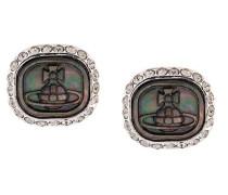 'Edith' Ohrringe mit Swarovski-Kristallen und