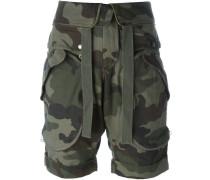 Shorts mit Camouflage-Print - women - Baumwolle