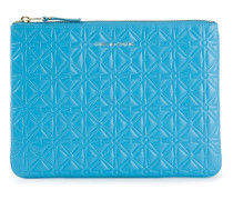 Portemonnaie mit geprägtem Muster
