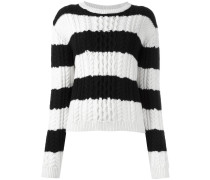 - Pullover mit Querstreifen - women - Merinowolle