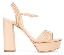 Sandalen mit geriffelter Plateausohle