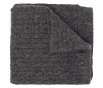 Grob gestrickter Lurex-Schal
