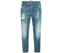 'Cool Girl' Jeans mit Nieten
