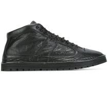 Mid-Top-Sneakers aus Leder