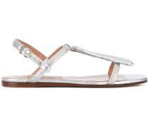 laminated sandals