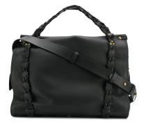 'Yannick' Handtasche mit Flechtdetail