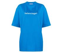 Oversized-T-Shirt mit Print