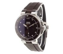 'Aquis Date Diamonds' analog watch
