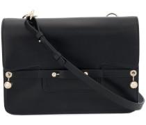 flap satchel bag