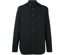 pocket front shirt