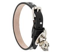 buckled skull bracelet