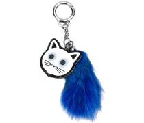Schlüsselanhänger mit Katzen-Motiv