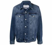 Jeansjacke mit Waschung