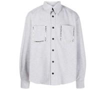 Verziertes Jersey-Hemd