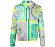 Leichte Jacke mit Barocco Mosaic-Print